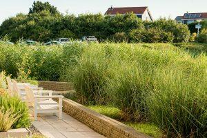 Hotel Greenside Texel terras